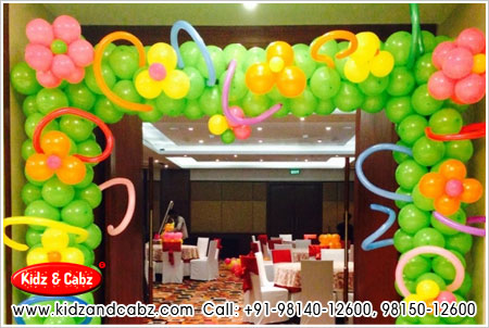 Balloon Decoration & Decorators for Birthday Party, Marriage Party & Special Occasions in Simla Kullu Manali Himachal Pradesh