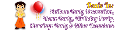 theme party decoration in ludhiana punjab - balloon party decoration in ludhiana punjab