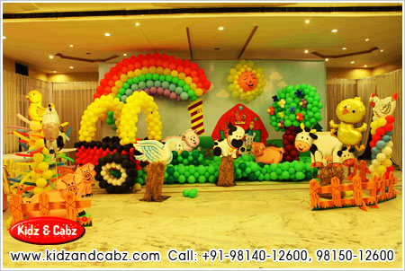 Theme Party Decoration for Boys in ludhiana punjab - kids theme party decorators ludhiana punjab