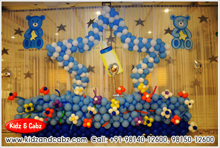 New baby born party decorators new born child party for Dekoration fur babyparty